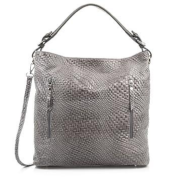 FIRENZE ARTEGIANIEchte Lederhandtasche für Frauen. Echte