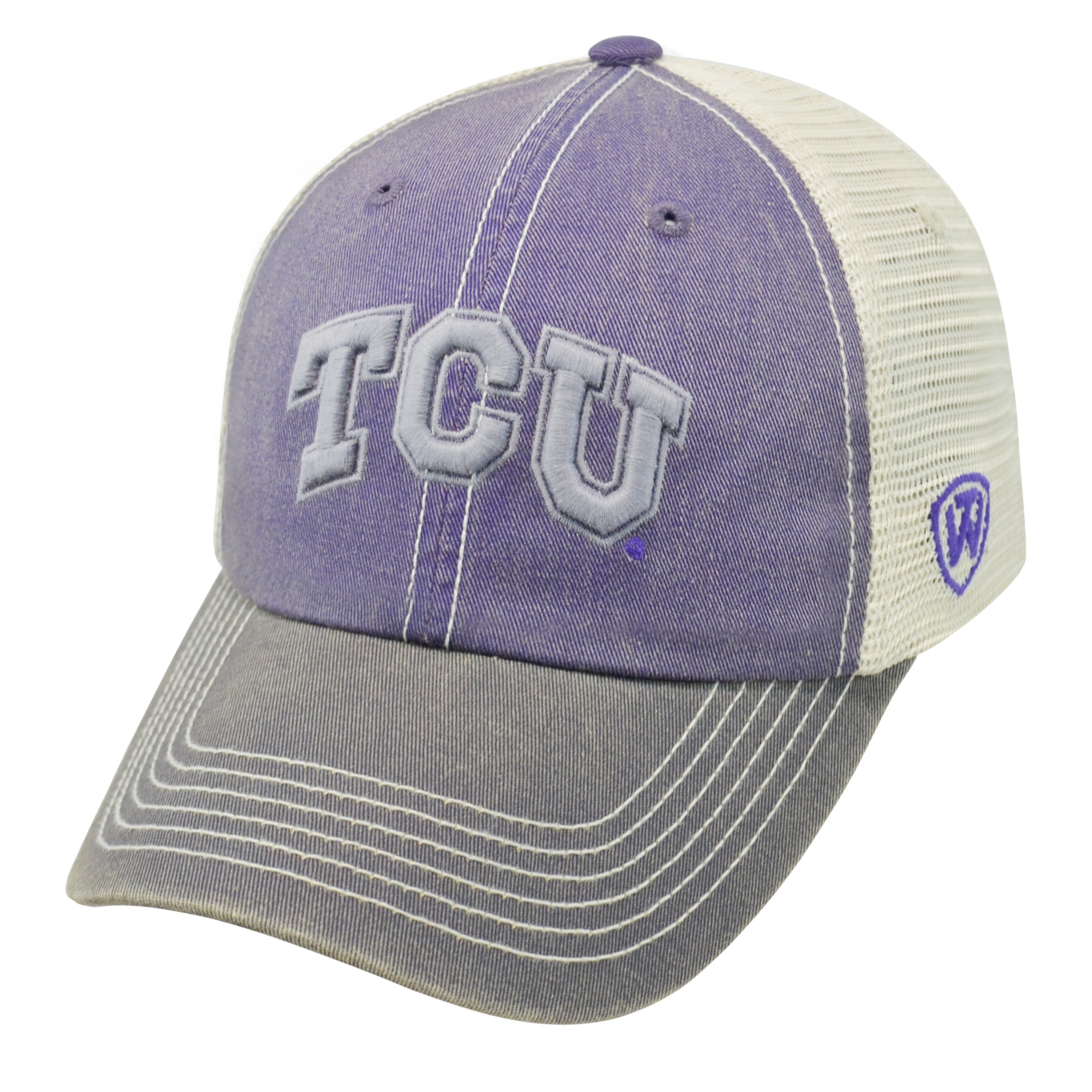 Top of the World TCU Horned Frogs Official NCAA Adjustable Youth Offroad Hat Cap 174600