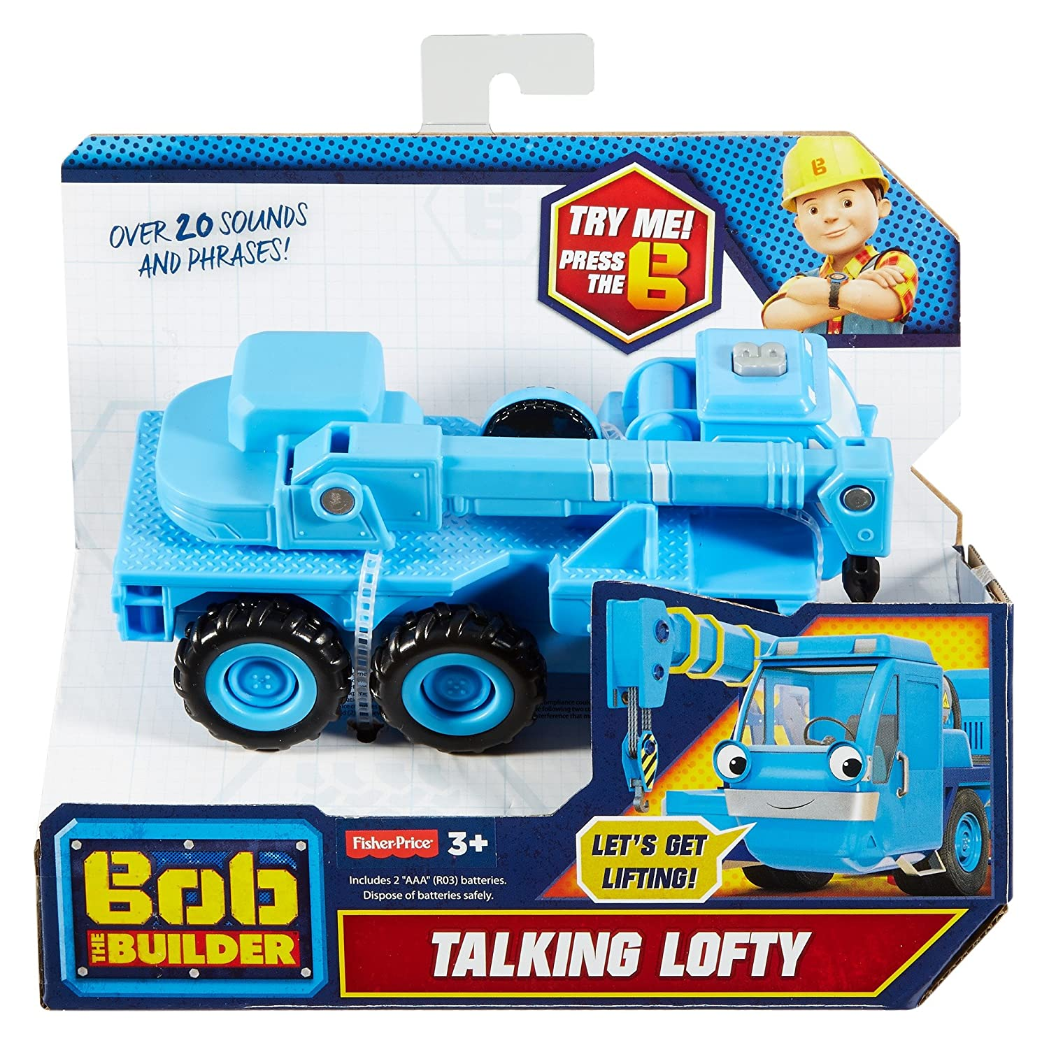 Mattel Fisher-Price Bob el Constructor FootyGnomes - Lofty ...