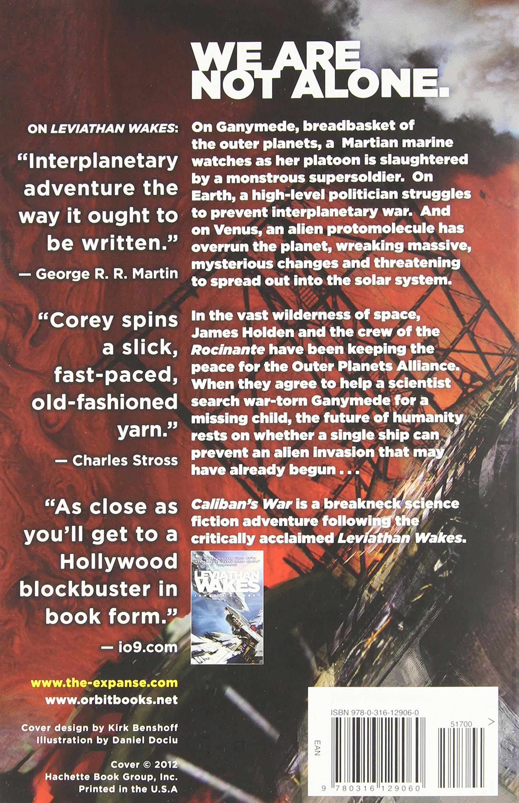 Caliban's War (the Expanse): James S A Corey: 9780316129060: Amazon:  Books