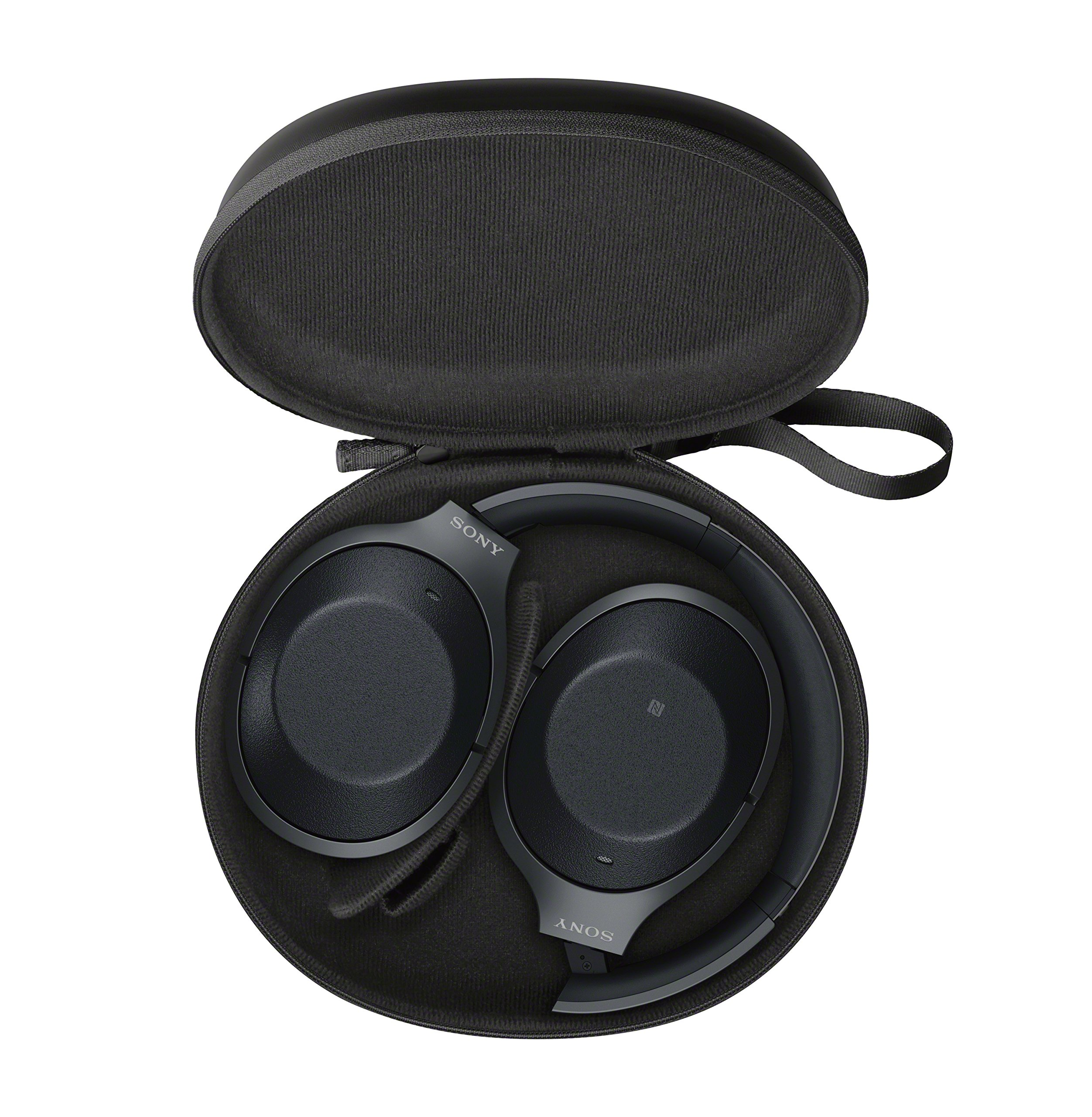 Sony Noise Cancelling Headphones WH1000XM2: Over Ear Wireless Bluetooth Headphones with Case - Black by Sony (Image #6)