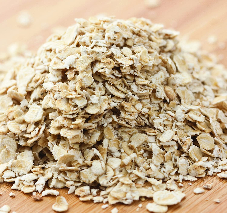 Bulk Non-GMO Organic Quick Oats, 50 Lb. Bag