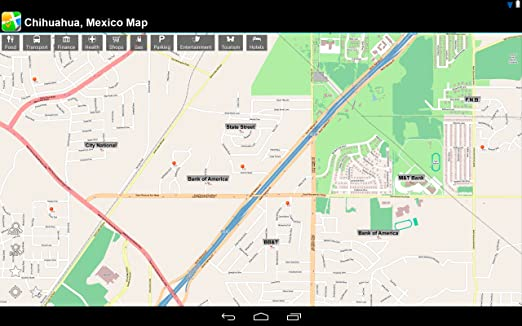 Amazon.com: Chihuahua, Mexico Offline Map: PLACE STARS: Appstore for on