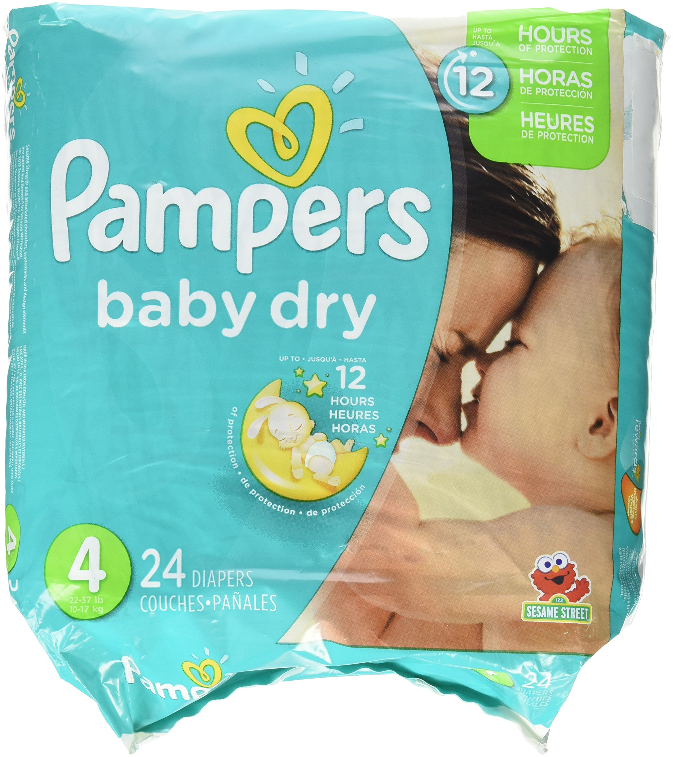 Pampers Baby Dry Diapers - Size 4 - 24 ct by Pampers