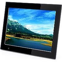 """Xoro DPF 15B1Cadre photo numérique Écran TFT 38,1cm (15"""") (4: 3, SD/SDHC/MMC/MS PRO, USB 2.0, diashow, lecture de vidéo, télécommande) Noir"""