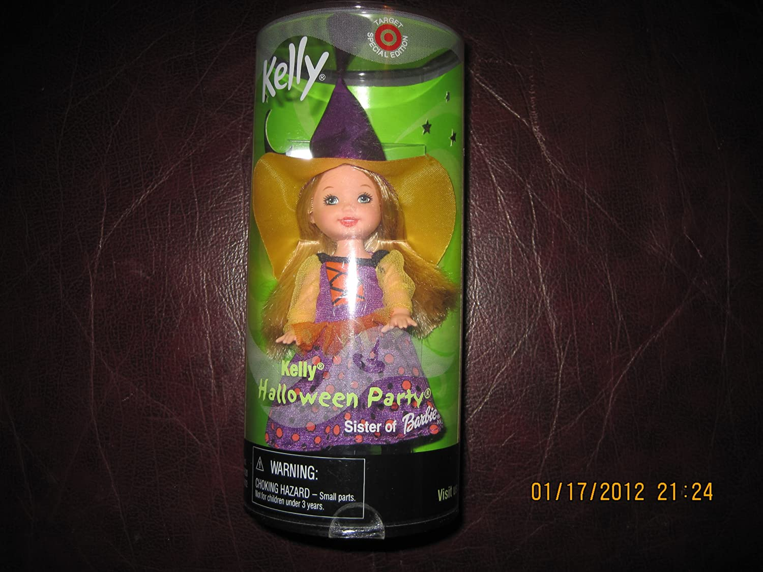 Barbie - KELLY Club Halloween Costume Party Kelly the Witch, Kelly Li'l Friends Doll