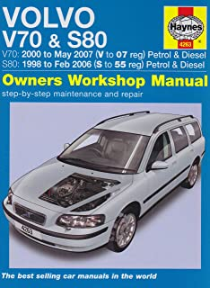 volvo v70 s80 howard hughes 9780857339072 amazon com books rh amazon com volvo s80 repair manual free volvo s80 haynes manual