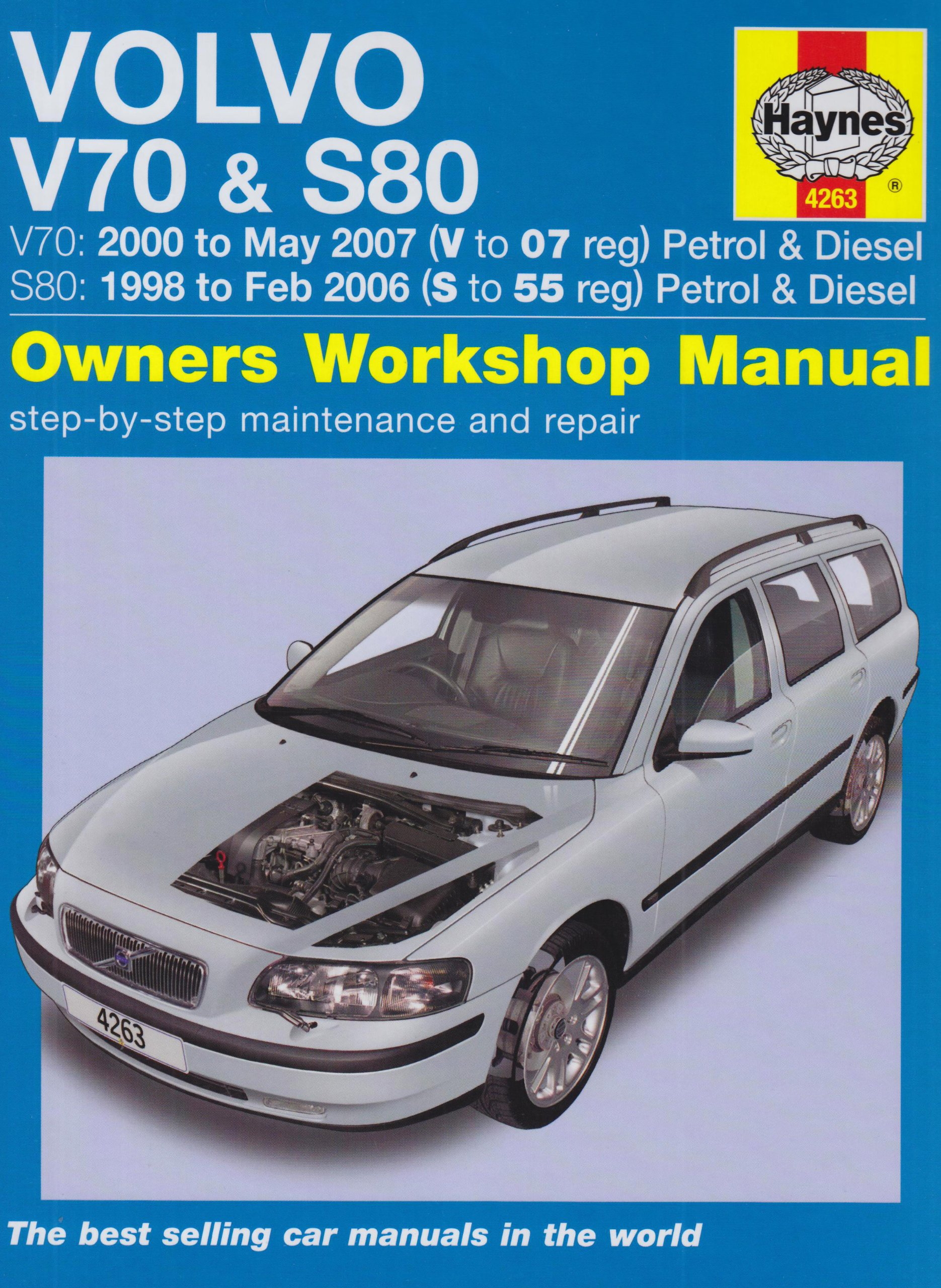 volvo v70 and s80 petrol and diesel service and repair manual 1998 rh  amazon com 1998 volvo s70 service manual pdf