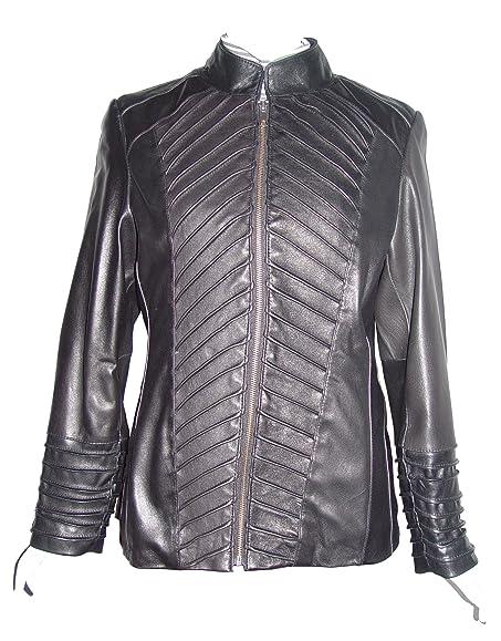 Nettailor S Sz 4190 Soft Leather REAL FUR LINED Symmetrical Seam ...