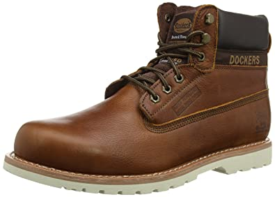 33CR001, Bottes Classiques Homme, Marron (Dunkelbraun 380), 45 EUDockers by Gerli