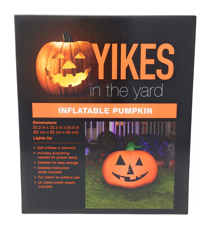 Amazon 32 Inch Halloween Pumpkin Airblown Inflatable Garden