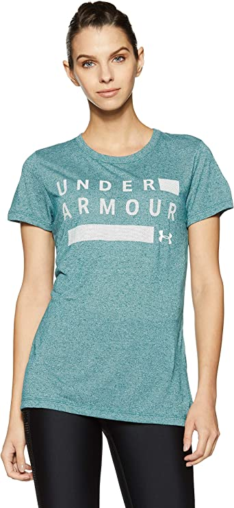 Under Armour Womens Threadborne Short Sleeve V Graphic