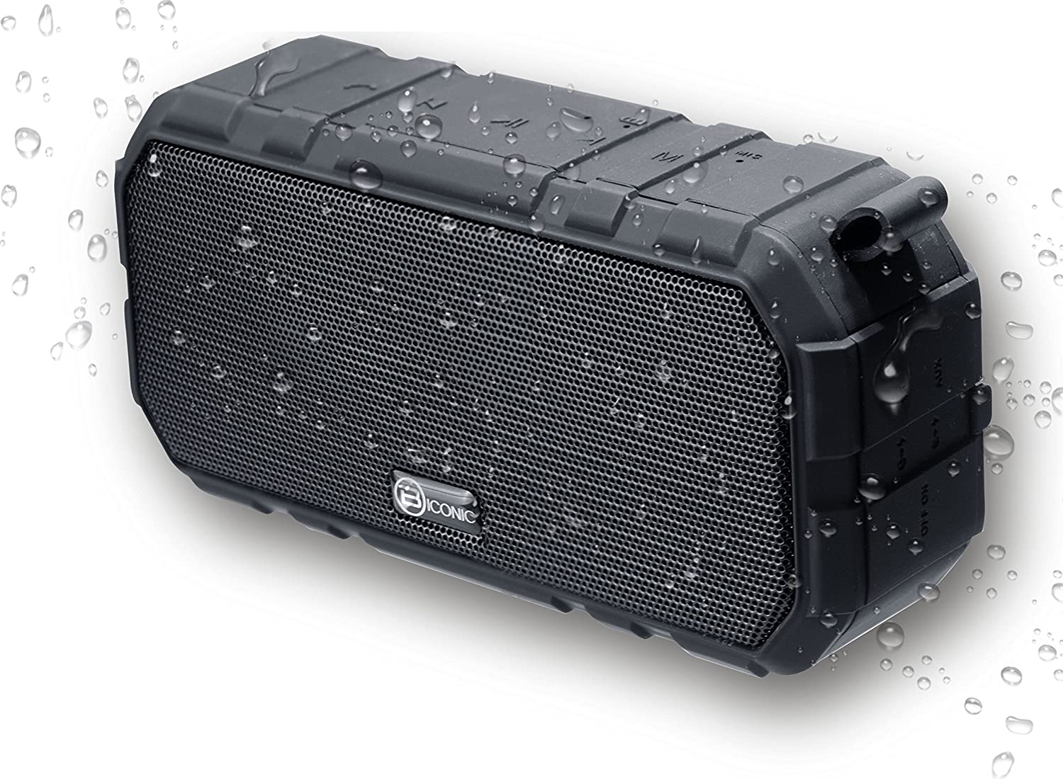 Biconic Bluetooth Tough Weatherproof Enhanced Bass Portable