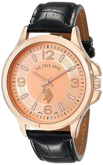 U.S.POLO ASSN. USC50238 - Reloj de Pulsera Hombre, Color Negro ...