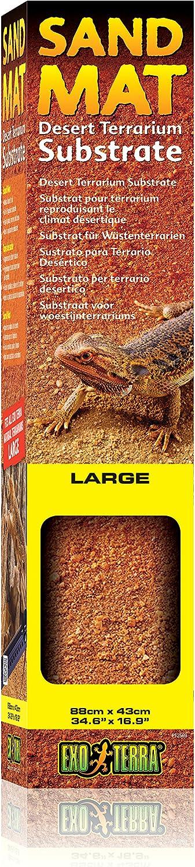 ExoTerra Sustrato Sand Mat Grande, 88 x 43 cm