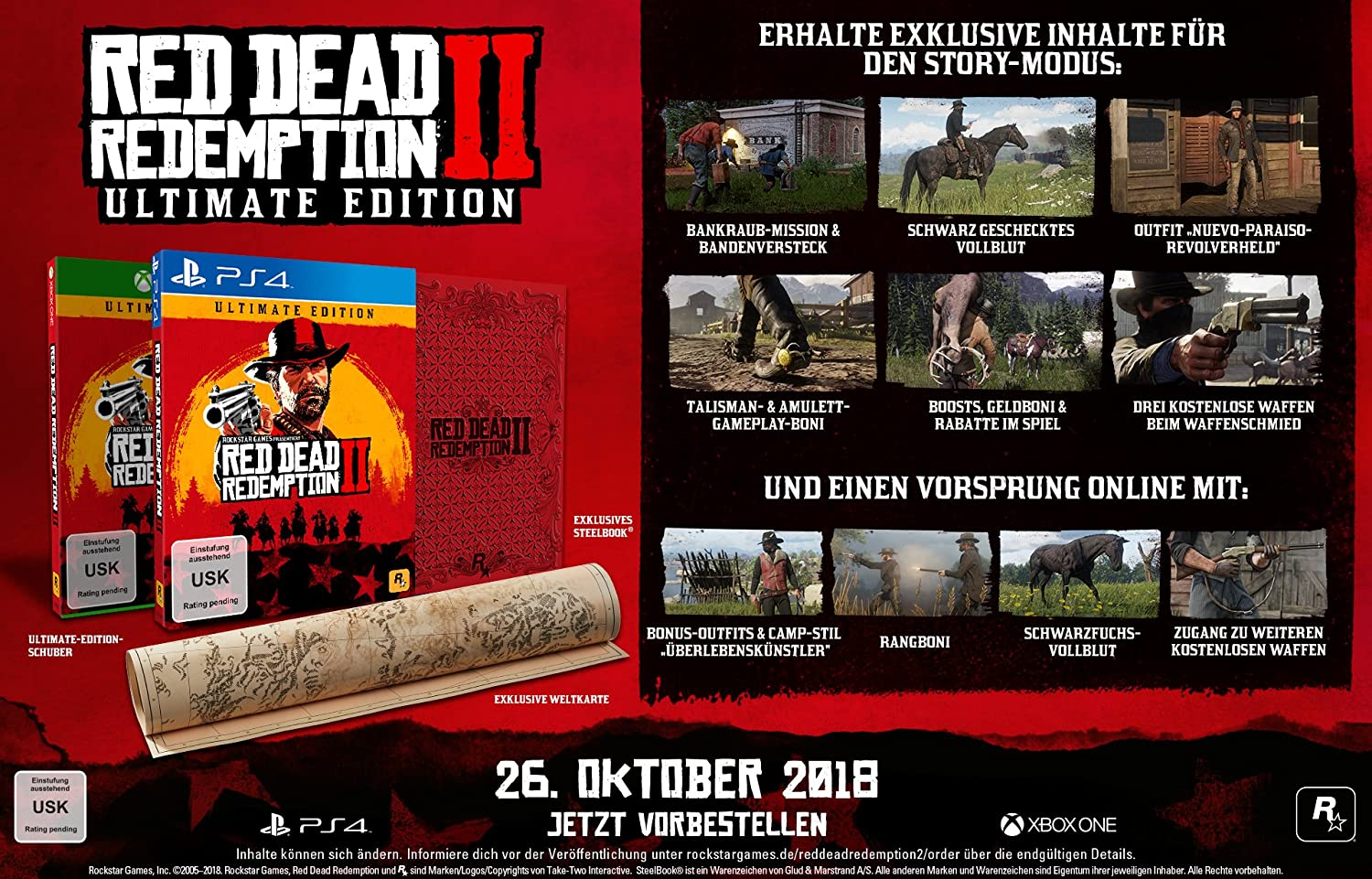 rdr 2 ultimate edition ps4 saturn