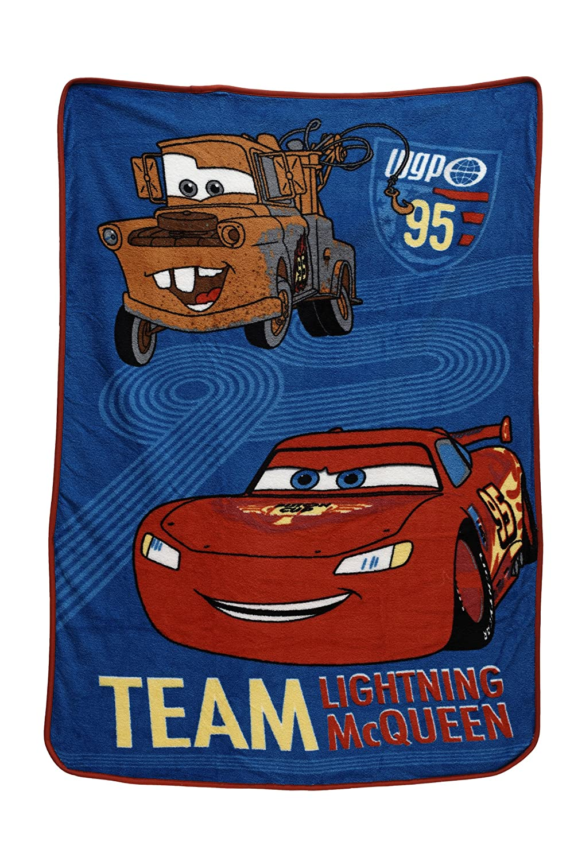 Disney Coral Fleece Blanket, Cars Taking The Race