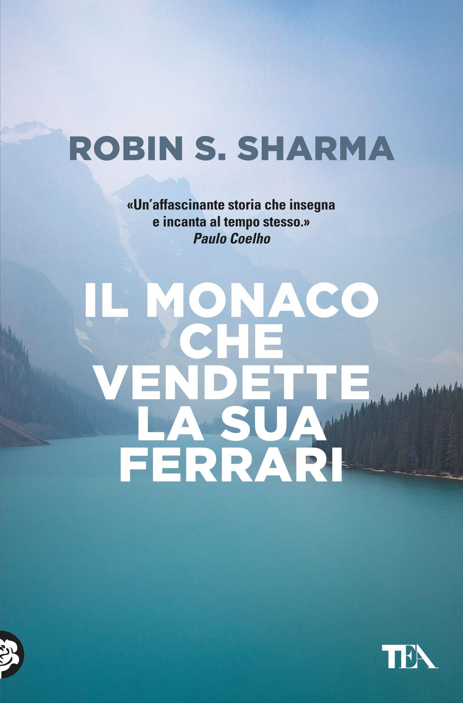 Copertina Libro Il monaco che vendette la sua Ferrari
