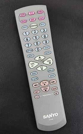 Sanyo mando a distancia para TV fxwe se suministra con modelos ...