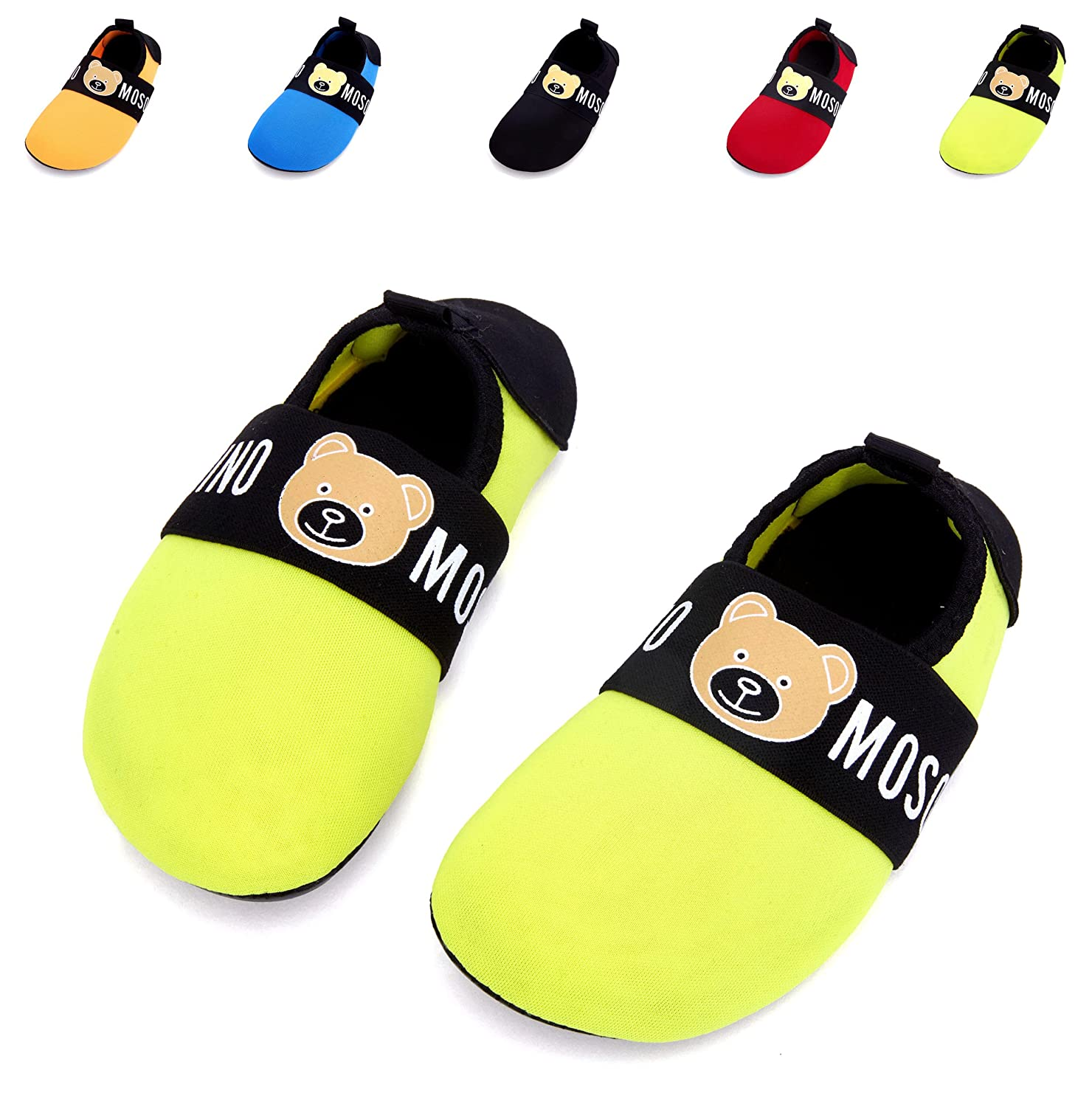 Giotto Kids Swim Water Shoes Quick Dry Non-Slip for Boys /& Girls