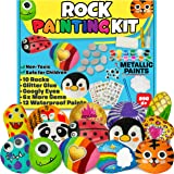 JOYEZA Rock Painting Art Kit for Kids Arts and Crafts for Kids Ages 8-12 - Best Art Craft Gift for Rock Painting, All-Inclusi