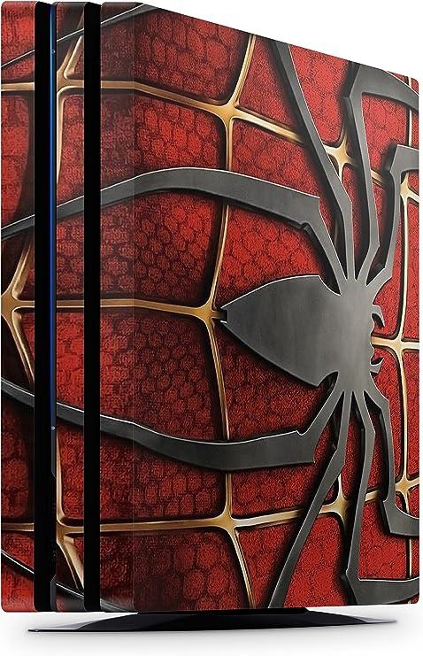 giZmoZ n gadgetZ Skin Adhesivo de Vinilo de Spiderman de GNG para la Consola PS4 Pro + Set de 2 Skins para los Controladores: Amazon.es: Electrónica