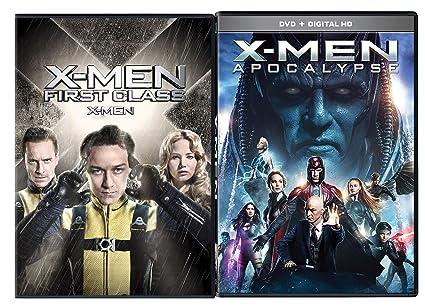 Amazon com: X-Men Apocalypse DVD & X-Men First Class Marvel