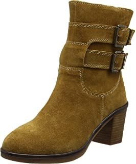 Charity Catelyn, Bottes Femme, Jaune (Camel), 38 EUHush Puppies