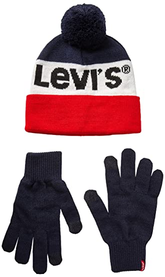 0f1cbe0a8c94 Levi s Men s s Sportswear Logo Giftset Gloves  Amazon.co.uk  Clothing