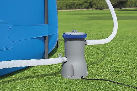 Bestway 58386 - Depuradora de Filtro Cartucho Tipo II 3.028 litros/hora Conexión 32 mm: Amazon.es: Jardín