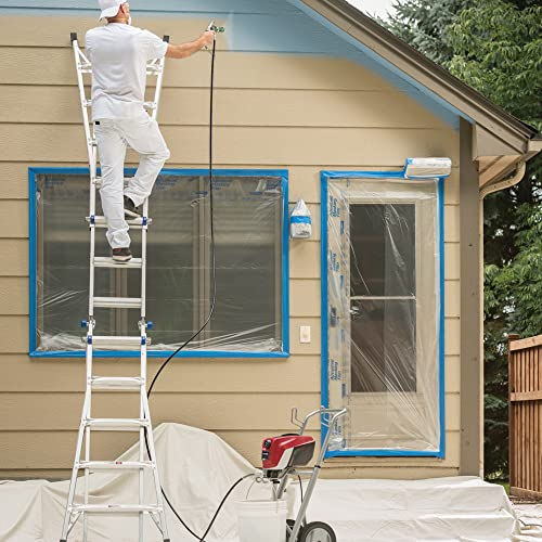 Titan ControlMax 1700 PRO is a airless paint sprayer that is highly recommended for Exterior Painting