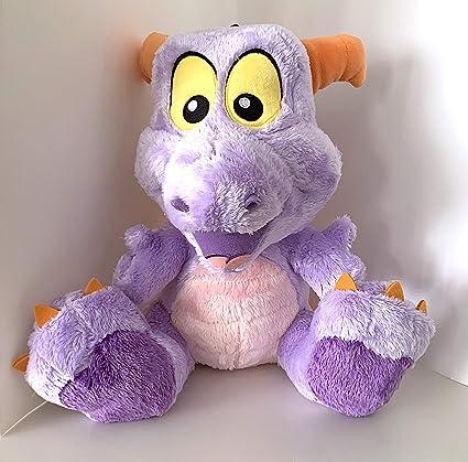 Walt Disney World Epcot Figment Purple Dragon 10 inch Big Feet Plush Doll NEW