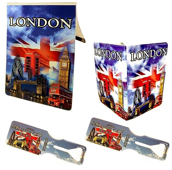 BOGAF UK - Juego de maletas Multicolor multicolor 22cm x 16cm: Amazon.es: Equipaje