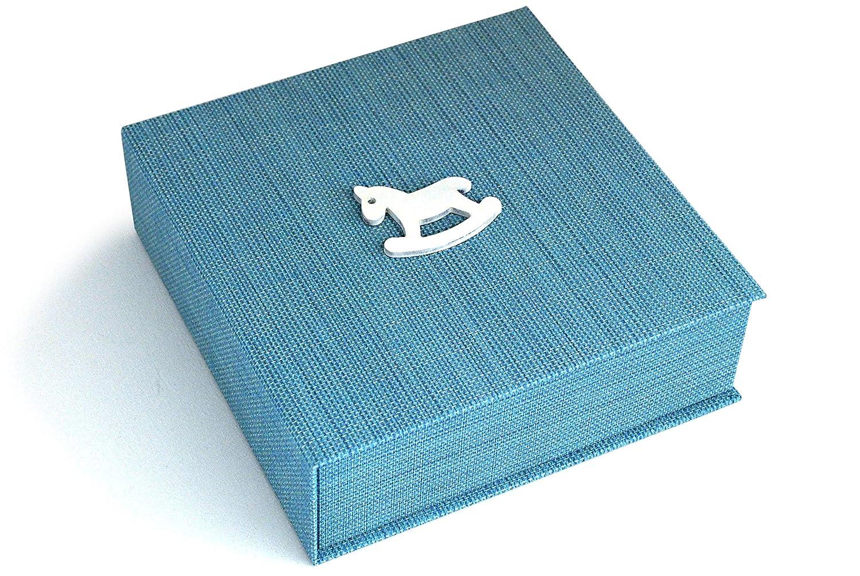 40 p/áginas. Formato 19x19 cm Carrozzina Caja de recuerdos y /Álbum de fotos