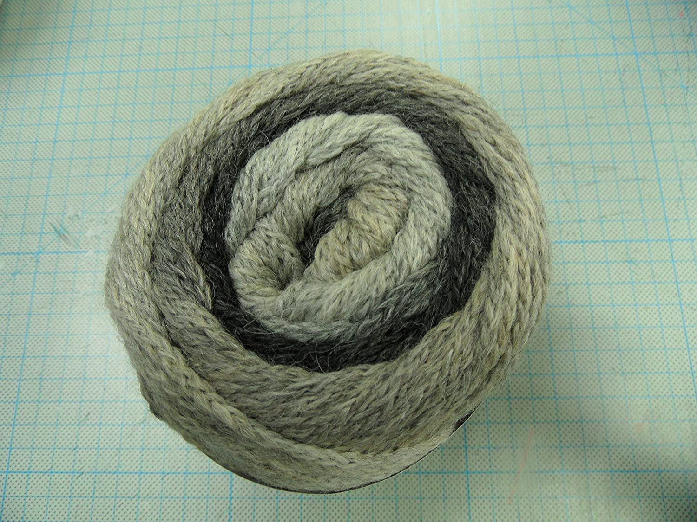 Super Color Wolle Kreativ Fb Lana Grossa 106 senf//oliv//dunkelbraun 100 g