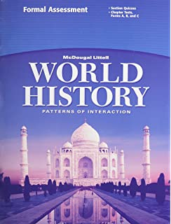 World history patterns of interaction student edition 2007 mcdougal littell world history patterns of interaction formal assessment grades 9 12 fandeluxe Gallery