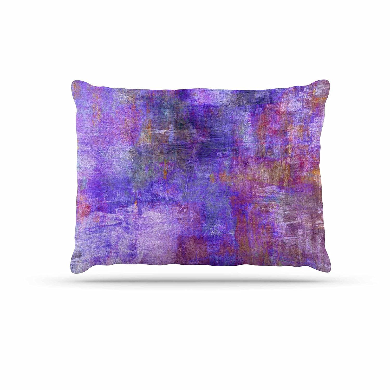 KESS InHouse EBI Emporium Purple Fog Purple Painting Dog Bed, 30  x 40