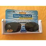 Solar Shield 56 Rec 5 Gray Polarized lens Ultra Light frame Clip On Sunglasses
