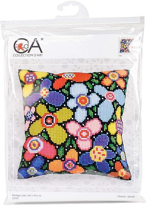 Collection dArt - Kit de Punto de Cruz, cojín: diseño de ...