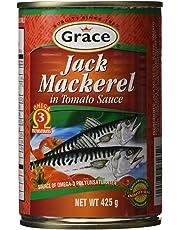 GRACE Grace Jack Mackerel in Tomato Sauce, 425 G