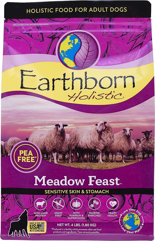 Earthborn Holistic Meadow Feast Grain-Free Natural Dry Dog Food, 4 lb