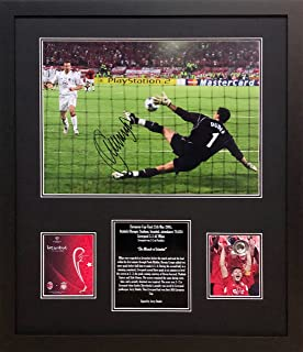 448ea3f02e9 Allstarsignings Jerzy Dudek Liverpool signed & framed 2005 Champions League  Final photo with COA and proof