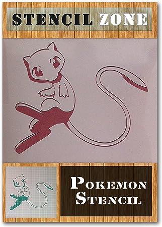 Rondoudou Pokemon Mylar Airbrush Peinture murale Art Pochoir A1 Taille Pochoir - Xlarge