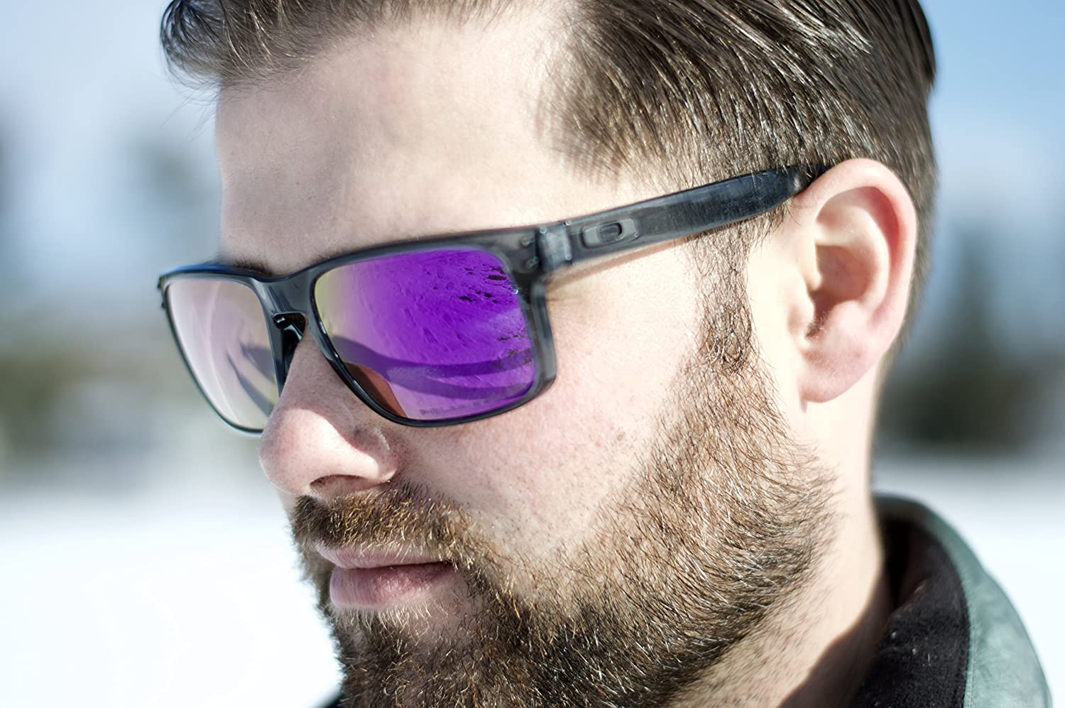 c60665f3e PURPLE Oakley Holbrook Lenses POLARIZED by Lens Swap. GREAT QUALITY & FITS  PERFECTLY. Oakley larger image