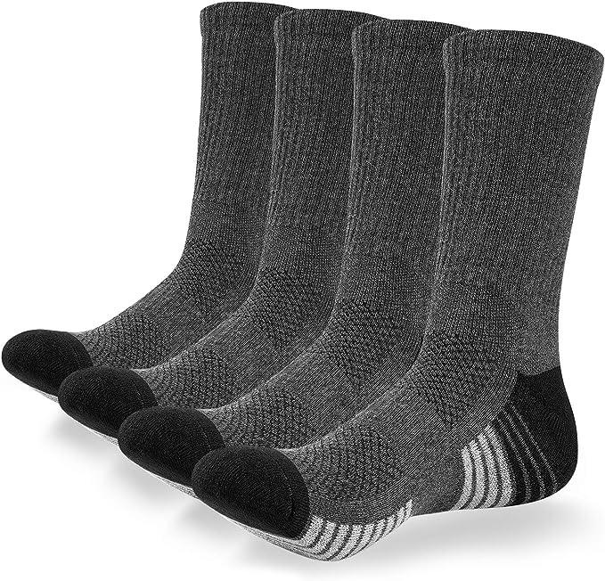 coskefy Calcetines Deportivos para Hombre y Mujer Calcetines Altos ...