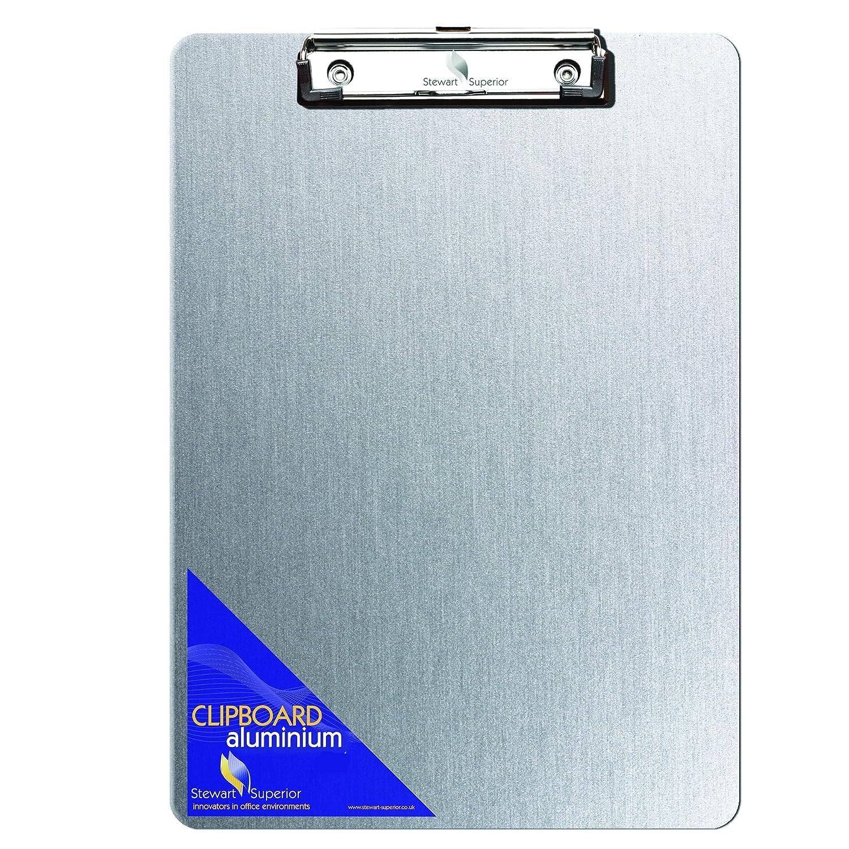seco, 3230a-ss–Portablocco in alluminio, a prova di ruggine per fogli di carta Stewart Superior 3230A-SS