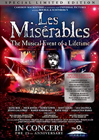Les Miserables 25th Anniversary - Special Limited Edition With
