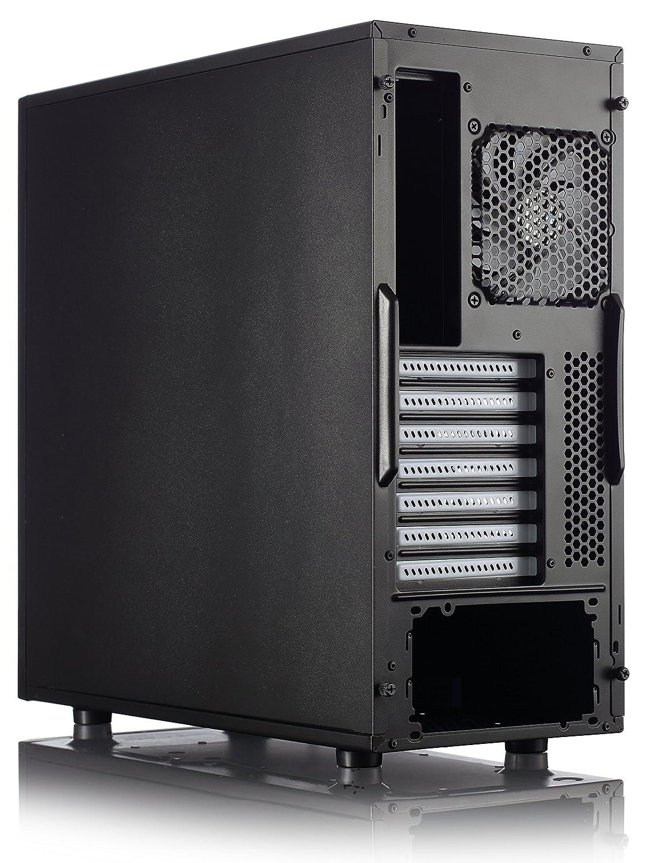 Amazon.com: Fractal Design FD-CA-CORE-2300-BL Core 2300 ATX Mid ...