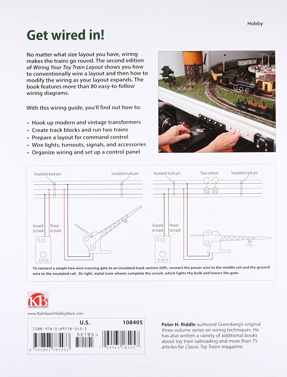 Kalmbach 10 8405 Wiring Your Toy Train Layout Second Bachmann Diagrams Edition Kalz8405 Toys Games