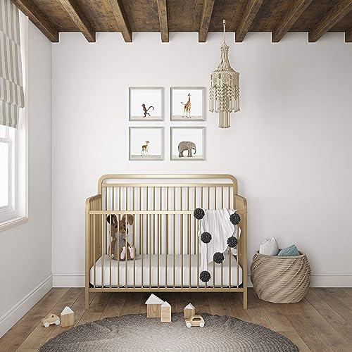 Baby Relax Juniper 4-in-1 Juniper Elegant Island Metal Crib